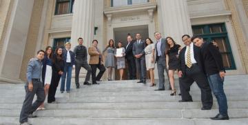 Lee County Commissioners Recognize D'Latinos al Dia TV Program